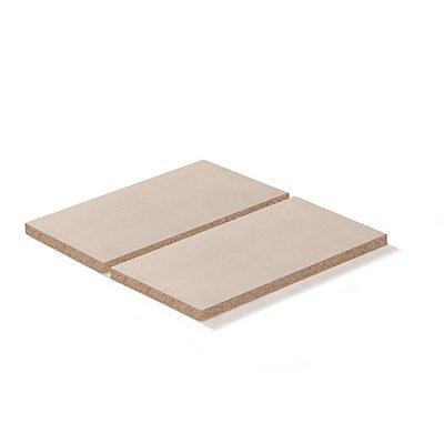 Lista Spanplatteneinlage - für Rahmenbreite x tiefe 1290 x 1260 mm, Fachlast 800 kg, für 100% Auszugrahmen