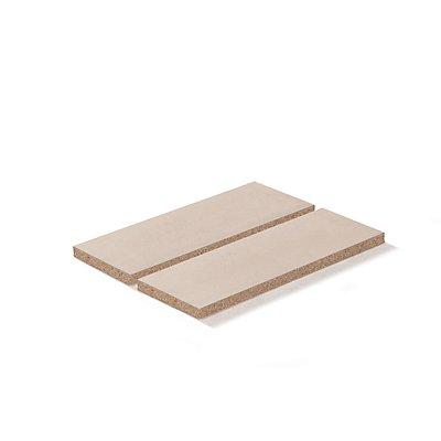 Lista Spanplatteneinlage - für Rahmenbreite x tiefe 1290 x 860 mm, Fachlast 1000 kg, für 100% Auszugrahmen