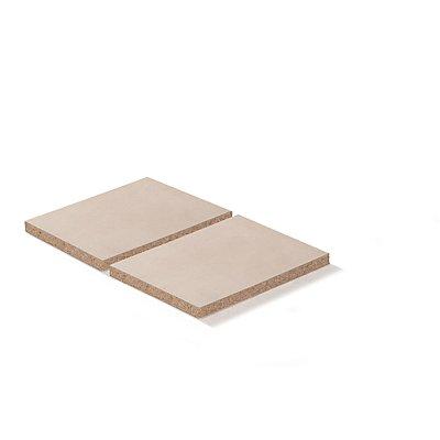 Lista Spanplatteneinlage - für Rahmenbreite x tiefe 890 x 1260 mm, Fachlast 800 kg, für 100% Auszugrahmen