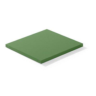 Lista Stahlblech-Kopfboden - BxT 890 x 860 mm, Fachlast 200 kg
