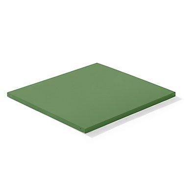 Lista Stahlblech-Kopfboden - BxT 1290 x 1260 mm, Fachlast 100 kg