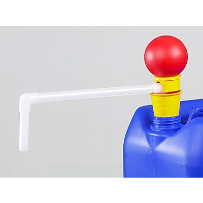Kleingebinde-Pumpe - PVDF-Handpumpe - Tauchtiefe 700 mm