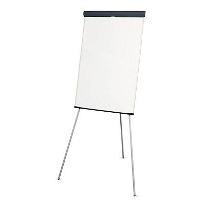 MAUL Flipchart, dreibeinig - Höhe 1860 mm, ohne Papierhalter, weiß