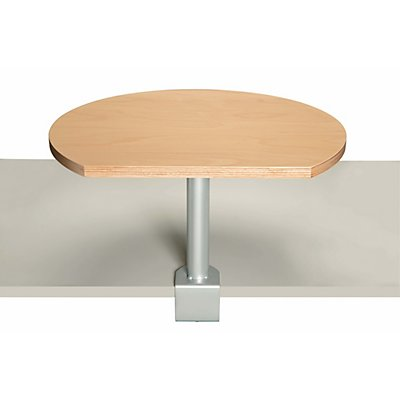 MAUL Tischpult mit Klemmfuß - Platte aus Buche, Frontfarbe Buche