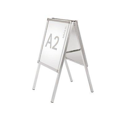 MAUL Kundenstopper, doppelseitig - Aluminium
