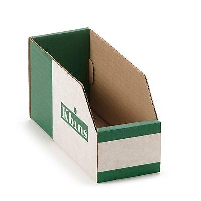 kbins Karton-Regalkasten, faltbar - VE 50 Stk