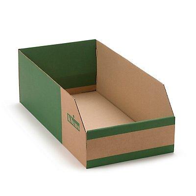 kbins Karton-Regalkasten, faltbar - VE 25 Stk
