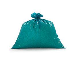 Sacs-poubelle - lot de 250, bleu - L x l 800 x 800 mm