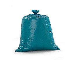 Sacs-poubelle - en polyéthylène, capacité 120 l - lot de 250, bleu