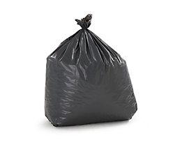 Sacs-poubelle - lot de 200 - gris