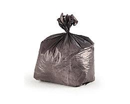 Abfallsäcke - aus grauem Polyethylen - für Behälterinhalt 11 l, VE 30 Rollen mit je 50 Stück