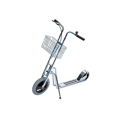 Roller MODELL 65 - 2 Räder, Klingel und Korb - Trommelbremse am Vorderrad