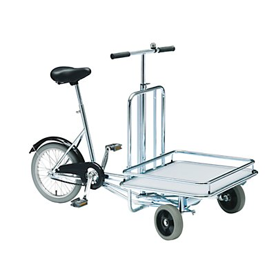 Fahrrad MODELL 20 - 3 Räder, mit Ladefläche - Klingel und Fußbremse