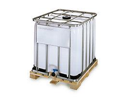IBC-Container mit UV-Schutz, 1000 l - Containerfarbe weiß