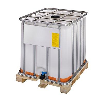 IBC-Container mit UV-Schutz, UN-Zulassung - Containerfarbe weiß