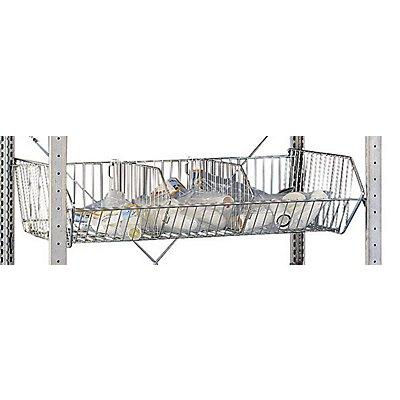 Schulte Drahtgitterkorb - für Drahtgitterkorbregale, BxT 1000 x 500 mm
