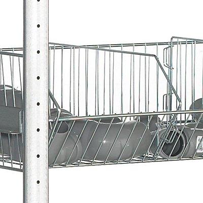 Schulte Trenngitter - für Drahtgitterkörbe, Tiefe 500 mm