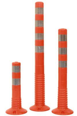 Absperrpfosten aus PU, flexibel - Ø 80 mm, 360° kippbar, VE 2 Stk