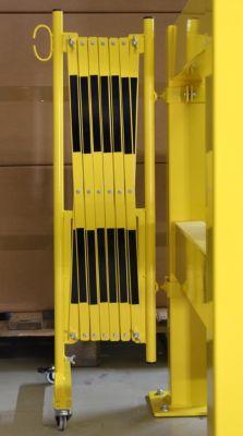 Scherengitter für Sicherheitsgeländer - Länge 4000 mm, Gewicht 22,9 kg