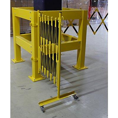 dancop Scherengitter für Sicherheitsgeländer - Länge 3600 mm, Gewicht 15,9 kg