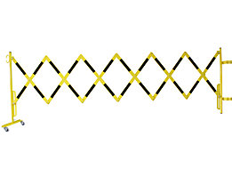 Scherengitter für Sicherheitsgeländer - Länge 3600 mm