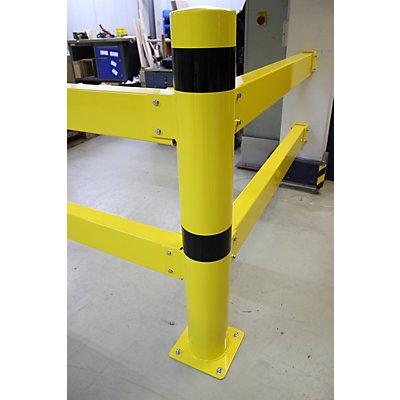 dancop Eckpfosten XL für Sicherheitsgeländer - Höhe 1200 mm