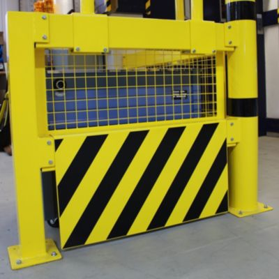 Unterfahrschutz für Sicherheitsgeländer - Höhe 490 mm
