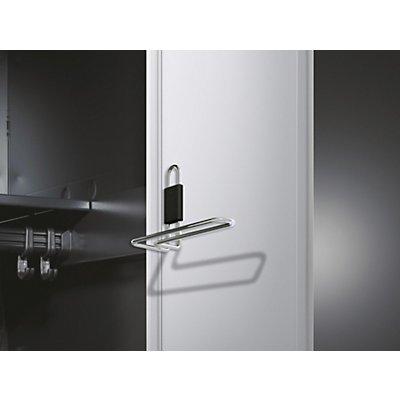 CP Handtuchhalter - für Stahltür, für Abteilbreite 300 mm