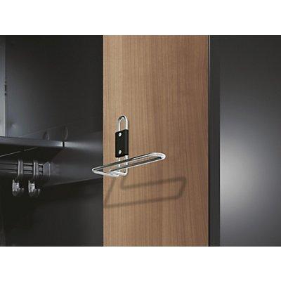 CP Handtuchhalter - für Dekortür, für Abteilbreiten 300 / 400 mm