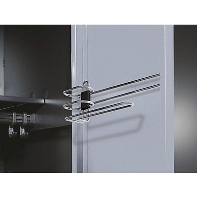 CP Handtuch- / Duschgelhalter - für Stahltür, für Abteilbreite 400 mm