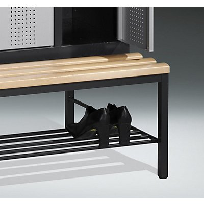 CP Schuhrost - 400 mm, für Sitzbank, für Abteilbreite 400 mm