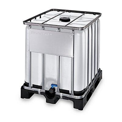 WERIT IBC-Container mit UV-Schutz, 1000 l - Containerfarbe weiß