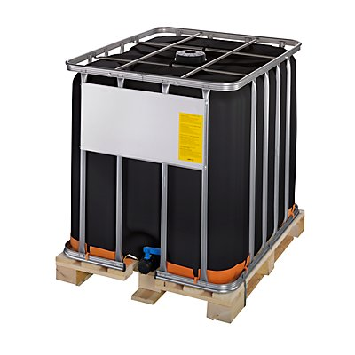 werit ibc container mit uv schutz un zulassung containerfarbe schwarz. Black Bedroom Furniture Sets. Home Design Ideas