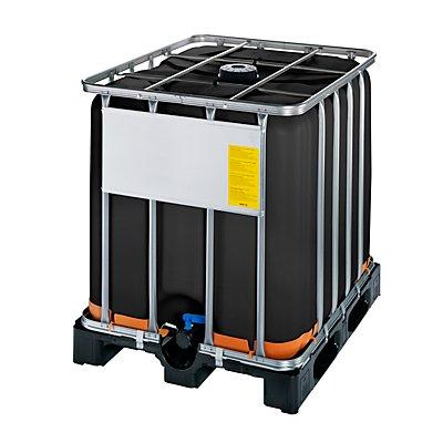 WERIT IBC-Container mit UV-Schutz, UN-Zulassung - Containerfarbe schwarz