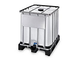 IBC-Container, geerdet - für EX-Zone 1 + 2, auf Kunststoffpalette