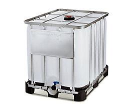 IBC Transport- und Lagertank auf Kombipalette - Inhalt 1000 l