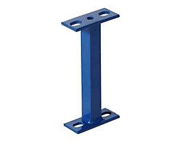 Distanzstück - für Palettenregalsystem - Länge 200 mm, blau