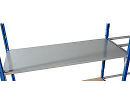 Bodenauflage - Metall lackiert - Breite x Tiefe 1250 x 400 mm