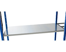 Bodenauflage - Metall verzinkt - Breite x Tiefe 1250 x 500 mm