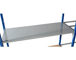 Bodenauflage - Metall lackiert - Breite x Tiefe 1250 x 600 mm