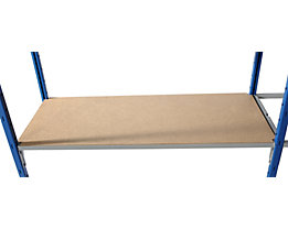 SLP Hartfaser-Bodenauflage - für Steckregal - BxT 1000 x 350 mm, VE 2 Stk