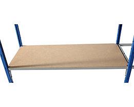 Hartfaser-Bodenauflage - für Steckregal - BxT 1000 x 600 mm, VE 2 Stk