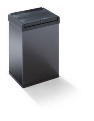 Schwingdeckel-Abfallbox - HxBxT 500 x 340 x 260 mm, 40 l