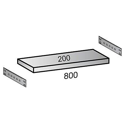 Scholz Fachboden für Industriesteckregal - Bodenbreite 800 mm