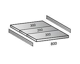 Scholz Fachboden für Industriesteckregal - Bodenbreite 800 mm, Tiefe 800 mm