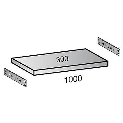 Scholz Fachboden für Industriesteckregal - Bodenbreite 1000 mm