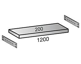 Scholz Fachboden für Industriesteckregal - Bodenbreite 1200 mm, Tiefe 200 mm