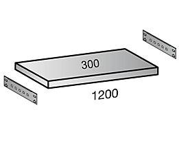 Scholz Fachboden für Industriesteckregal - Bodenbreite 1200 mm, Tiefe 300 mm