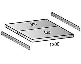 Scholz Fachboden für Industriesteckregal - Bodenbreite 1200 mm, Tiefe 600 mm