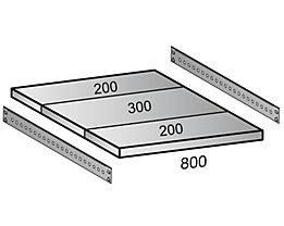 Scholz Fachboden für Cleana-Steckregal - Bodenbreite 800 mm - Tiefe 700 mm